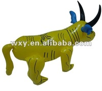 Cheap Price PVC Inflatable Animal Toy Cattle Shaped,Walking Toys for Baby