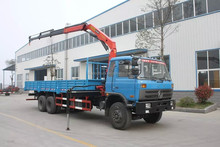 Dongfeng 6x4 truck mounted SANY crane 10tons with good price 008615826750255 (Whatsapp)