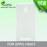 Fashion 3D sublimation cell phone case for Oppo find 7