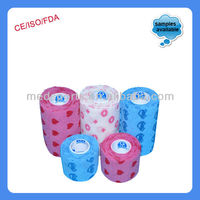 High Quality Non Woven Adhesive Roll Elastic Bandage!(ce Approved)