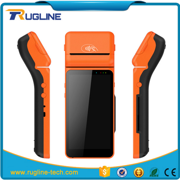Android queue ticket printer cinema vending machine with barcode scanner