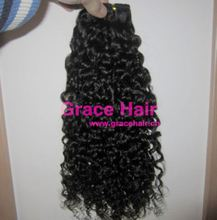 100% natural virgin malaysian loose curly hair