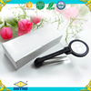 plastic portable magnifying glass, magnifier tweezers