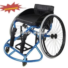 Lightweight Manual Leisure and Sport Basketball Wheelchairs Rehabilitation Therapy Supplies ,Aluminum