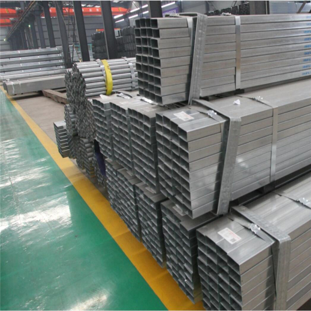 Factory sale rectangular hollow section gi ms square pipe from china