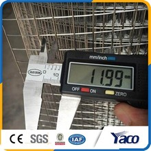 zinc plated 1/2 inch plastic coated welded wire mesh