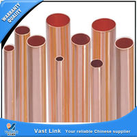 Plastic copper welded pipes for medical equipment