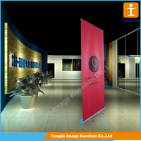 Digital printing retractable banner stand size, pull up banner
