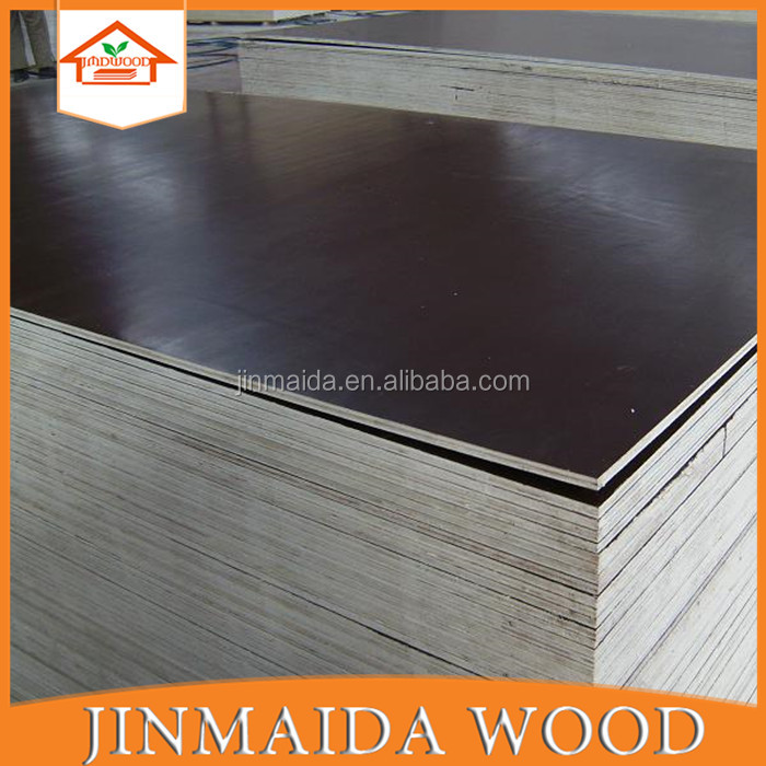 Hight quality concrete formwork waterproof 12mm film faced plywood