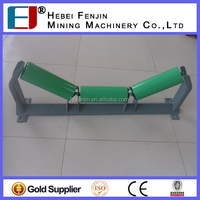 steel pipe support cable ground roller / pulley block for coal mining equipment