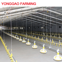 Automatic chicken farm feeding system price broiler feeder poultry farming equipment for sale