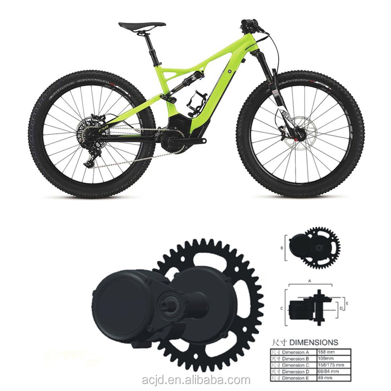 electric bike motor mid drive/central motor e bike kit for bicycle