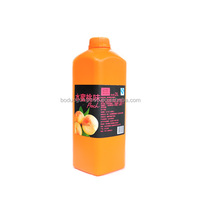 Fresh Different Flavours Honey Peach Concentrated Juice For Fruit Drink