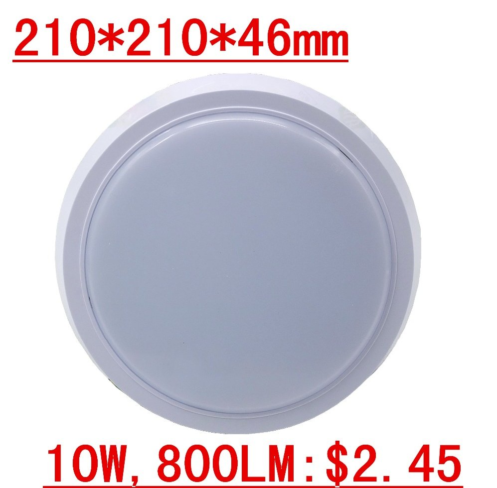 Living room Plastic Replacement Cover Modern Lighting Round Led Ceiling Light, Light Fixture of Ceiling