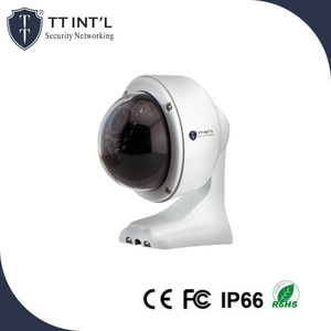 2MP Wall-mounted Megapixel Dome PoE IP Camera with Microphone