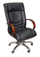 Genuine Leather Material and Modern Appearance executive design office chair for commercial furniture