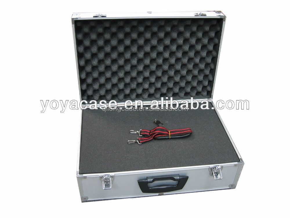 aluminum new briefcase tool case for carry with trays