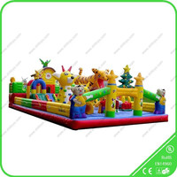 Happy Hop Inflatable Bouncer Children Cartoon Bounce Castle