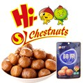 Organic asian ready to eat chestnuts snacks
