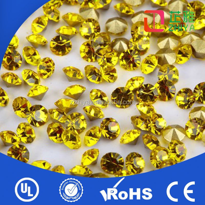 self adhesive cheap korean crystal dmc hot fix rhinestuds