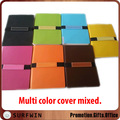 2017 Custom multi color pu leather horizontal elastic band notebook