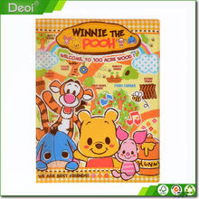 Recycle decorative 3 o paper ring binder with twin