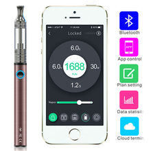 wholesale dry herb vaporizer with bluetooth rainbow colored smoke cigarette for electronic cigarette distributors