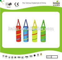 Kids play boxing bag toys/preschool soft play toys/PVC punching bag