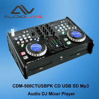 China Produce Professional CD/USB/SD DJ mixer player with CD,CD-R ,MP3 full dj control