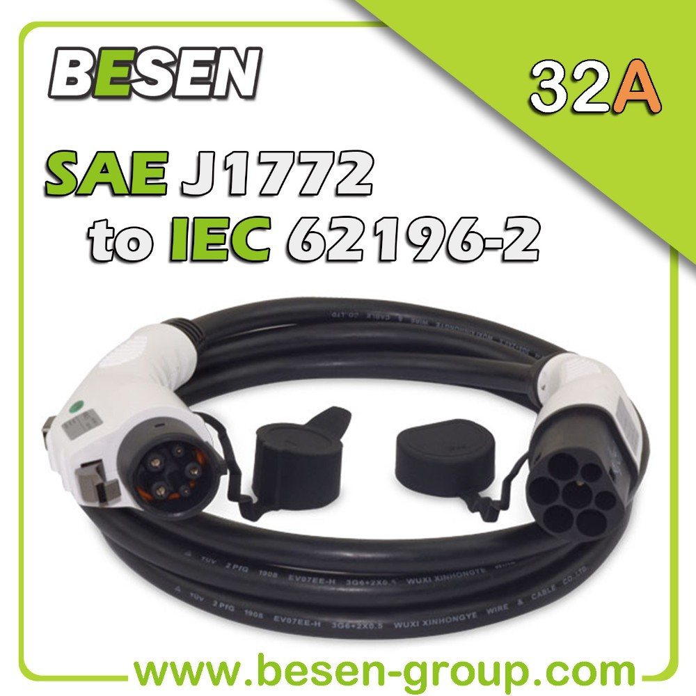 j1772 to 62196-2 for Electric Vehicles (EV) Charging