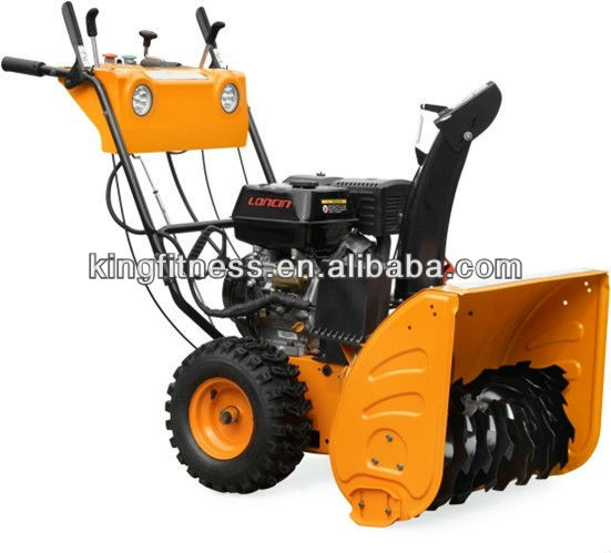 2012 hot sale track engine snow blower ,snow blower,snow sweeper thrower KFT011