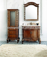 Antique hand carved bathroom vanity,Beautiful bathroom furniture cabinets,Vintage quality bath cabinetry vanity units(BF08-4115)