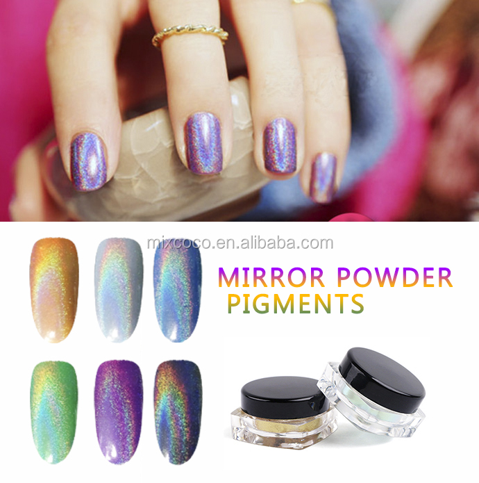 High Quality Rainbow Effect Pigment Spectraflair Holographic Pigment Powder For Nails
