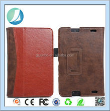 Folding Leather Wallet Case For Amazon Kindle Fire HD 7