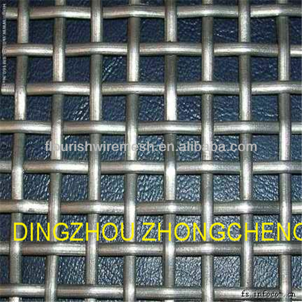 Best selling product aluminium crimped wire mesh