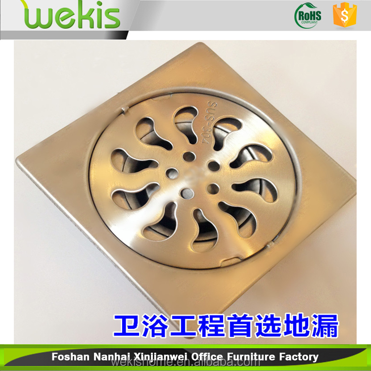 Bath Hardware 304 stainless steel Modern stylish design floor drain grate