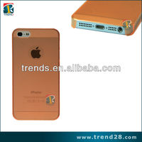 anti-skid matte plastic mobile phone cover for iphone5