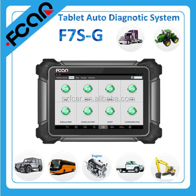FCAR F7S G SCAN TOOL Automobile OBD 2 Diagnostic Tools