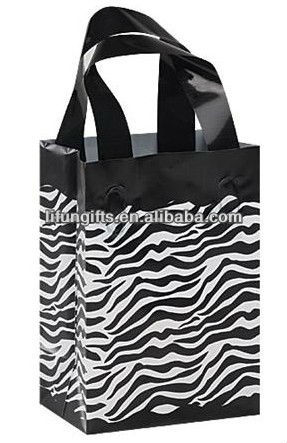 2016 wholesale zebra print shopping bags