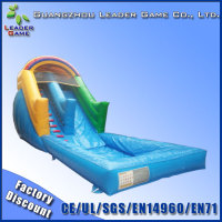 Fantastic airtech inflatable water slip n slide, inflatable games for rental and sale