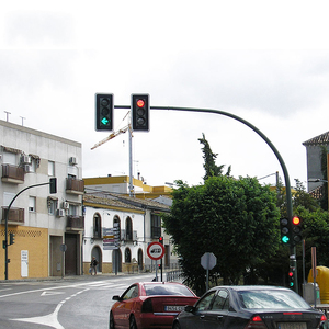 Europe Countries Use Widely Self Bending Traffic Light Pole
