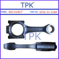 Connecting Rod, komatsu S6D114 connecting rod 6742-31-3100