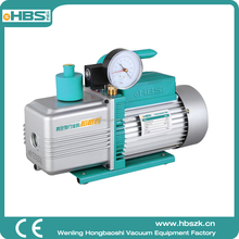 14cfm China HBS new type two stage 2R-5 electric rotary vacuum pump ,widely used for packing,drying and distallation