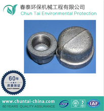 cnc machining cast iron pipe fitting end cap