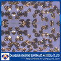 Synthetic abrasives black and amber cubic boron nitride powder