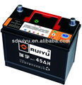 Maintenance free sealed lead acid storage battery