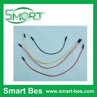 Smart Bes~Cheap china wholesale jumper wire Male to Male suit for breadborad ,stranded jumper wire