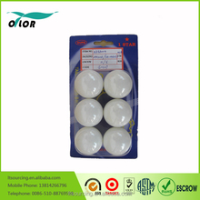 Fashion sports goods white color cheap pingpong balls