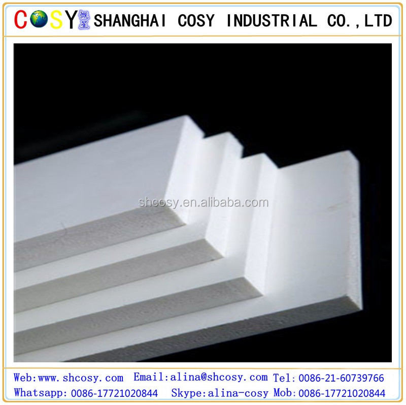 Impact resistant White 10mm pvc foam board/pvc celluka foam board for printing/advertiisng/building