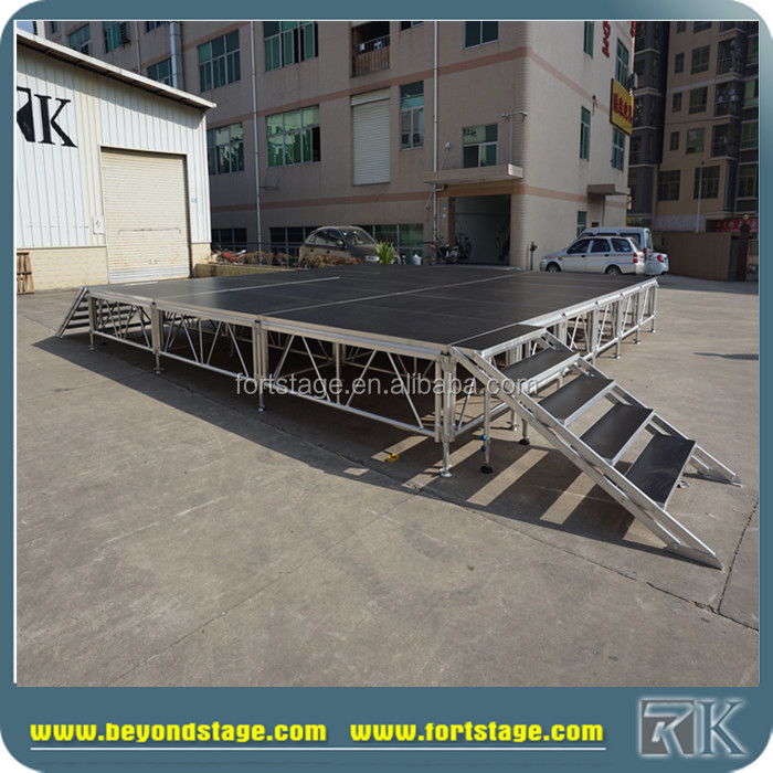 RK portable stage/adjustable stage platform/outdoor entertainment stage